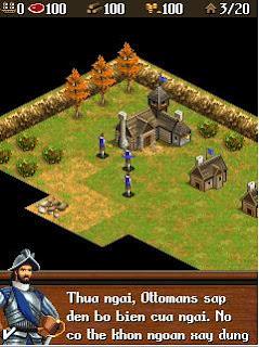 Age Of Empires 3 (Đế chế 3) - việt hóa, full màn hình